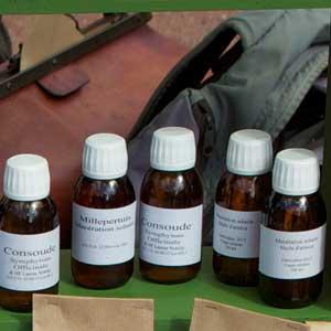 Les huiles de massage ou macérat huileux de l'herboristerie Les épilobes